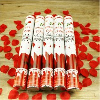 Red Rose Petal Popper for Birthday & Wedding Party
