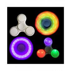 LED Light Fidget Spinner Color White Multi design