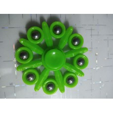 Spinner Eight Point Color Green