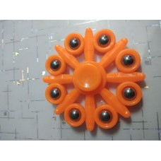 Spinner Eight Point Color Orange