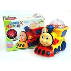 Train Toy with Lights and Music Gift, Multi Color
