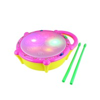 Flashing Drum with Light & Music
