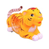 Funny Tiger Musical and Rotating with Flashing Light