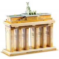 biZyug DIY 3D Puzzle The Brandenburg Gate 31 pcs