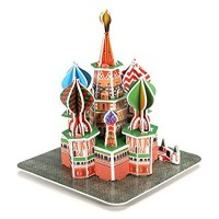 biZyug DIY 3D Puzzle Leaning Tower 28 pcs