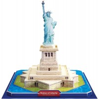 biZyug DIY 3D Puzzle Statue of Liberty 31 pcs