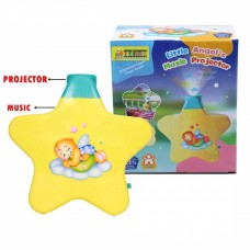biZyug Sleeping Star Projector with Light and Music for New-Born