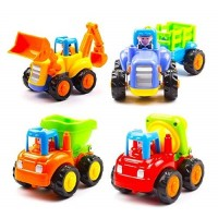 biZyug Unbreakable Automobile Car Toy Set (4 Toys Set)
