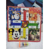 Laminated Paper Ludo and Snakes & Ladders