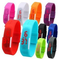 LED Band Digital Watch