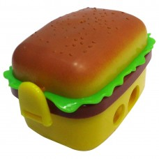 biZyug Burger King Sharpener with Two Eraser