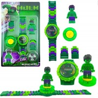 biZyug Hulk Watch with Spinner and Adjustable Chain