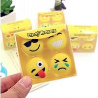 biZyug Emoji Smiley Eraser for Return Gift